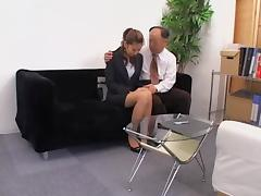 Nice Jap slut gets a big load in spy cam Asian sex video porn video