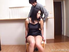 Some sex games with a gorgeous chick Marika Tsutsui