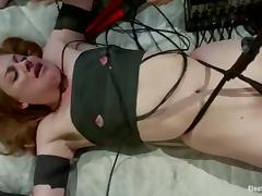 Lesbian Bondage Femdom with Kinky Action for Sovereign Syre