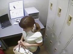 Spy, Asian, Cute, Hidden, Japanese, Office