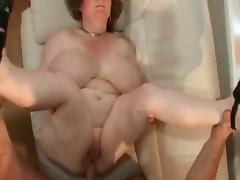 Hot BBW with Huge Tits Fucked