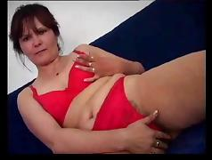 Mom and Boy, Hairy, Masturbation, Mature, MILF, Old and Young