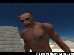 3D Ogres Fuck a Princess!
