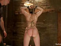 Horny Alani Pi sucks a dick and gets ass fucked from behind