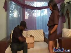 Imani is hot and horny as the dudes banging her silly