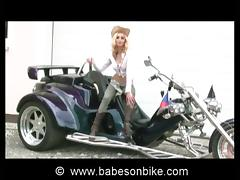 Biker, Biker, Blonde, Cowgirl, Fetish, HD