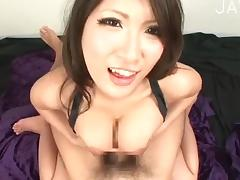 Japanese titsjobing cock porn video