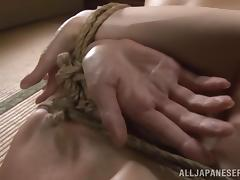 Hardcore Japanese fetish bondage with Reiko Sawamura porn video