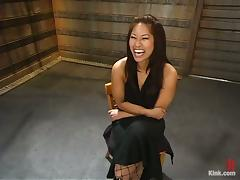 Stunning Asian Chick DragonLily Fucked Hard and Wild in BDSM Sex Vid