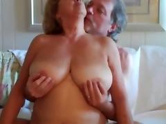Mature Woman Rides Husbands Cock porn video