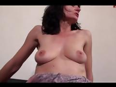 Mommy, Anal, Assfucking, Brunette, French, Group