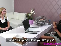 FemaleAgent: MILF corrupts delicious 20 year old
