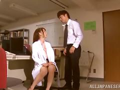 Seduction in the office and penetration in the bedroom porn video