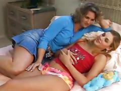 Daughter, Cunt, Kissing, Lesbian, Lick, Masturbation