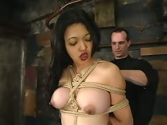 Asian Mika Tan Dominated and Tortured with Some Toying Fun Too