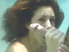 Miss Isabella Soprano gives Underwater BJ