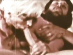 Vintage porn scene with a hot deepthroat porn video