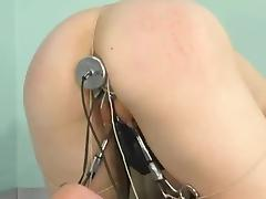 Strapon Banging for Bounded Chick in Lesbian Femdom Vid