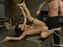 Katie Jordin gets beaten and amazingly fucked and enjoys it