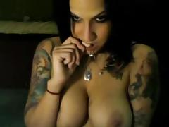 All, American, Brunette, Dildo, Masturbation, Orgasm