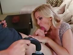 Busty cock sucking momma julia ann porn video