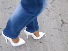 15cm High Heels Pumps - Nylons - Jeans - Jaunt