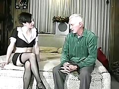 Milf gets her vag licked with the addition of fucked by an ancient suited to in homemade clasp