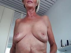 Old and Young, Blonde, Cunt, Granny, Masturbation, Mature