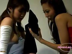 Japanese lesbians reverence back drag inflate hands