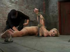 Tattooed sex slave Samantha Drop a clanger looks so awful