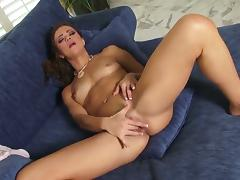 Hot bodied whore Alyssa Reece strips down involving porn video