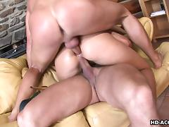 All, Blonde, Double, Smoking, Threesome, Double Penetration