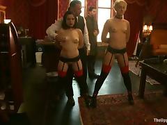 Bondage, BDSM, Blonde, Bondage, Bound, Brunette