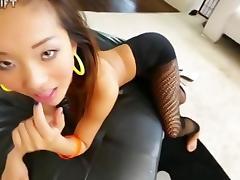 Preciosa asiática follada