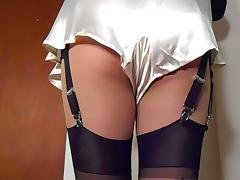 Satin French Knickers Output