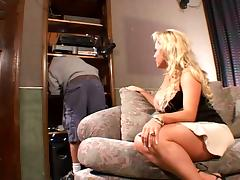 Amazing Hardcore Making love apropos Blonde MILF Milan Summer