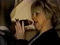 Black Granny, Black, Blonde, Creampie, Ebony, Interracial