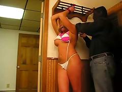Bondage Amateur - Young Girl in a Bikini