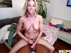 Busty Sindy Lange fucked by jumbo cock