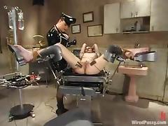 Wicked Torture Action in Lesbian BDSM Video with One Freaky Dominant Slut