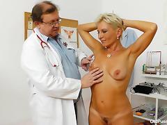 Hospital, Blonde, Hospital, Mature, Czech, Short Hair
