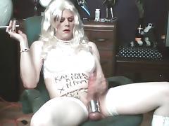 Proud smokin' faggot-whore