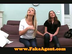 Fake Casting Agent Plays Tricks in Hot FFM Threeway! porn video