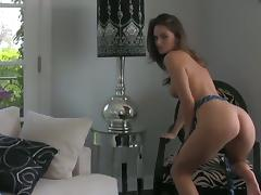 Tori Black satisfies herself porn video