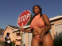 Black Teen, BBW, Big Tits, Black, Blowjob, Chubby