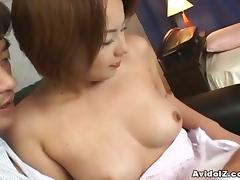 Dirty Dude Pleasuring Cute Asian Girl With His Fingers And Toys