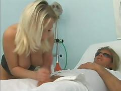 Delicious sex symbol of the hospital gets balled