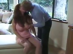 Busty Redhead Mature Bombshell Sucking And Fucking