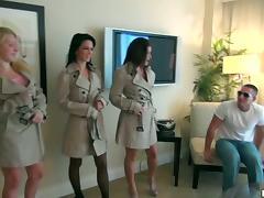 Panties, Blowjob, Doggystyle, Group, Hardcore, Horny