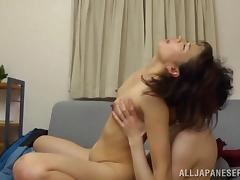 Hot sex with the horny Asian milf Hisae Yabe